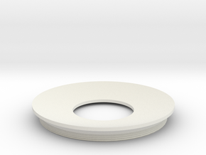 Lieberkuehn Reflector 58mm Dia. 50.8mm WD in White Strong & Flexible