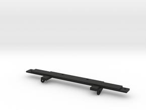 Bumper mount Adventure D90 D110 Gelande 1:10 in Black Natural Versatile Plastic