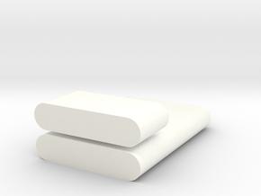 Key case in White Processed Versatile Plastic