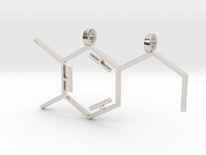 Dopamine Pendant in Platinum