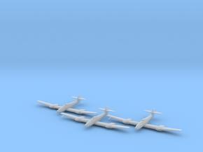 Blohm & Voss BV-155 1:200 x3 FUD in Smooth Fine Detail Plastic