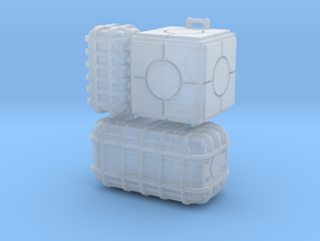 Star Wars cargo crates  in Smooth Fine Detail Plastic