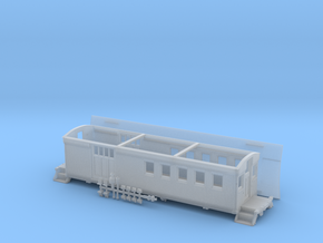 HOn3 - Carter Bros. SPC 45 thru 48 Caboose in Smooth Fine Detail Plastic
