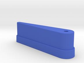 "CSF#3 - 3"" Long - Pinball Flipper Bat in Blue Processed Versatile Plastic"