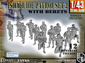 1-43 IDF BERET PATROL SET 2 in Frosted Ultra Detail