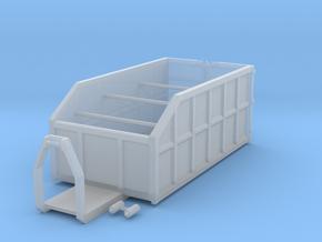 H0 1:87 Abrollcontainer mit Kranplattform in Smooth Fine Detail Plastic