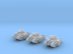 6mm Dieselpunk Primarch tank in Smoothest Fine Detail Plastic