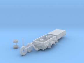 H0 1:87 Kompressoranhänger in Smooth Fine Detail Plastic