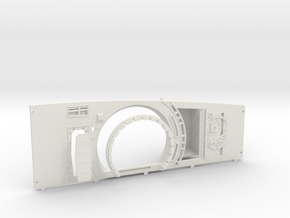 ESB Port Side Wall for DeAgo Falcon 1 of 2 in White Natural Versatile Plastic