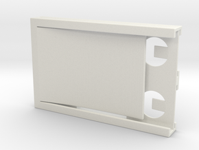Ulti-Wallet (Version C) in White Natural Versatile Plastic