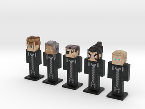 Organization XIII- KH2 5-pack (Weaponless) in Full Color Sandstone