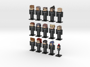 Organization XIII- 15-pack (Weaponless) in Full Color Sandstone