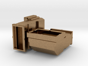 Two Positions For 3D Printing in Raw Brass
