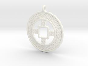 TreeSin C2S Pendant in White Processed Versatile Plastic