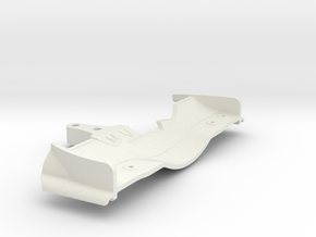 Xray Serpent CRC Yokomo Tamiya front Wing 2 in White Strong & Flexible