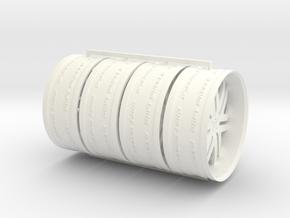 30in Lucid M in White Processed Versatile Plastic