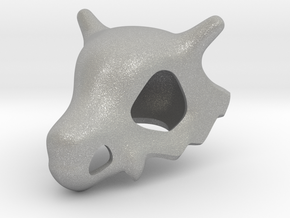 Pokémon Cubone Skull in Raw Aluminum