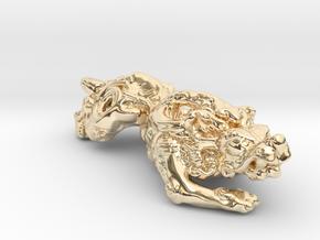 Pixiu 貔貅 in 14K Yellow Gold