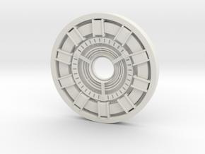 Arc Reactor in White Natural Versatile Plastic