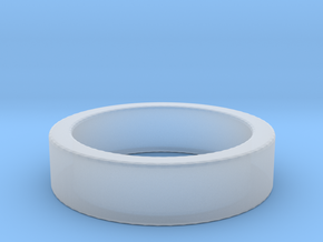 Basic Ring US5 1/4 in Smooth Fine Detail Plastic