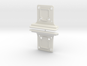 YZ4 - Front Bumpers in White Natural Versatile Plastic