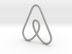 Airbnb Keychain in Aluminum