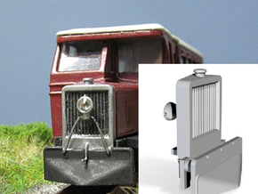Part C-3 Cab Radiator  in Frosted Ultra Detail