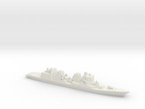 JS Akizuki, 1/3000 in White Natural Versatile Plastic