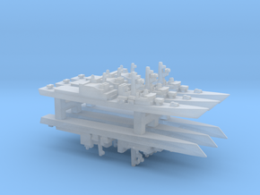 Asagiri-class destroyer x 6, 1/6000 in Smooth Fine Detail Plastic