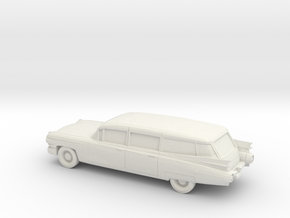 1/87 1959 Cadillac Station Wagon in White Natural Versatile Plastic