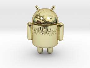 Droid-developer in 18k Gold