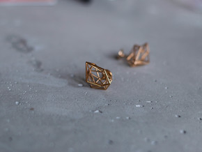 Cufflinks Chaos in Polished Bronze