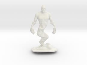 Djinn Genie Miniature in White Natural Versatile Plastic