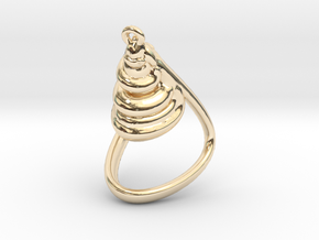 Attractor Final in 14k Gold Plated Brass
