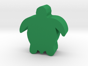Game Piece, Sea Turtle in Green Processed Versatile Plastic