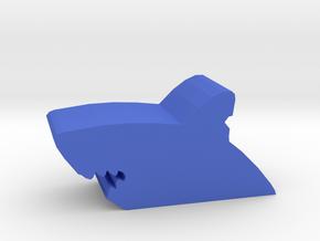 Game Piece, Shark Bite in Blue Processed Versatile Plastic