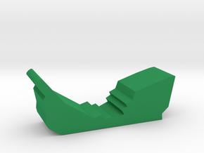 Game Piece, Shipwreck in Green Processed Versatile Plastic