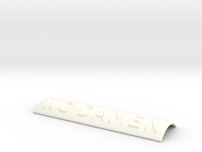 WC DAMEN in White Processed Versatile Plastic