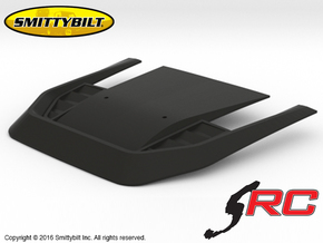 AJ10037 Smittybilt Stingray Hood in Black Natural Versatile Plastic