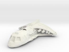 Stargate shuttle in White Natural Versatile Plastic
