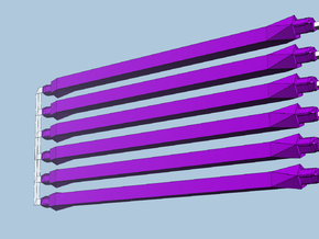 6 medium purple in Purple Processed Versatile Plastic