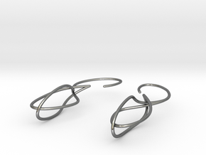 16 0403 Earrings in Polished Silver