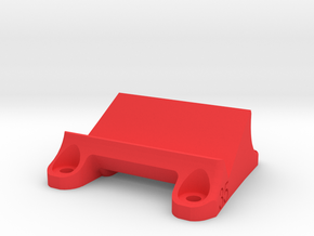 DemonRC NOX5 - 35° GoPro Xiaomi Yi MOUNT in Red Processed Versatile Plastic