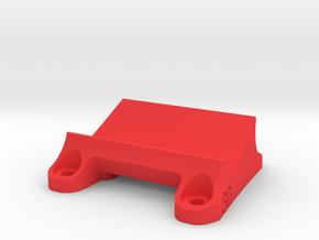 DemonRC NOX5 - 30° GoPro Xiaomi Yi MOUNT in Red Processed Versatile Plastic