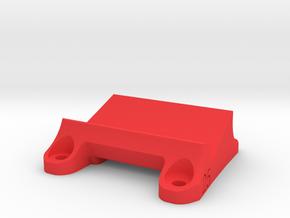 DemonRC NOX5 - 25° GoPro Xiaomi Yi MOUNT in Red Processed Versatile Plastic
