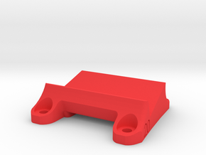 DemonRC NOX5 - 20° GoPro Xiaomi Yi MOUNT in Red Processed Versatile Plastic