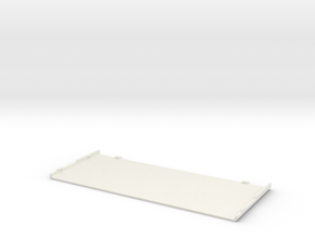 Nintendo New 3DS Coverplate in White Natural Versatile Plastic