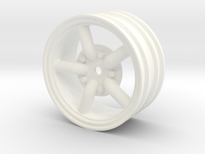 Mach 5 1.9 wheel with 12mm hex +3mm offset in White Processed Versatile Plastic