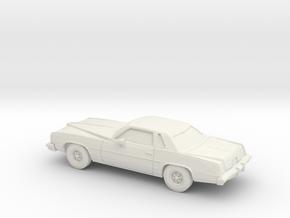 1/87 1977 Pontiac Grand Prix in White Natural Versatile Plastic