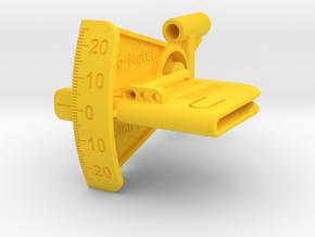 Klap-O-Meter in Yellow Processed Versatile Plastic